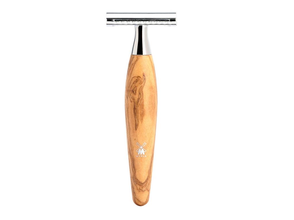Holicí strojek Mühle Kosmo Olive wood, žiletka