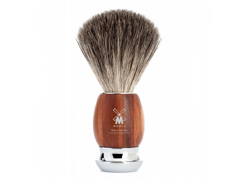 Štětka na holení Mühle Vivo Plum wood, Pure badger