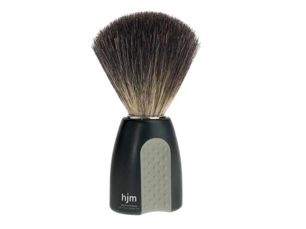 Štětka na holení HJM Modern, černá, Pure badger