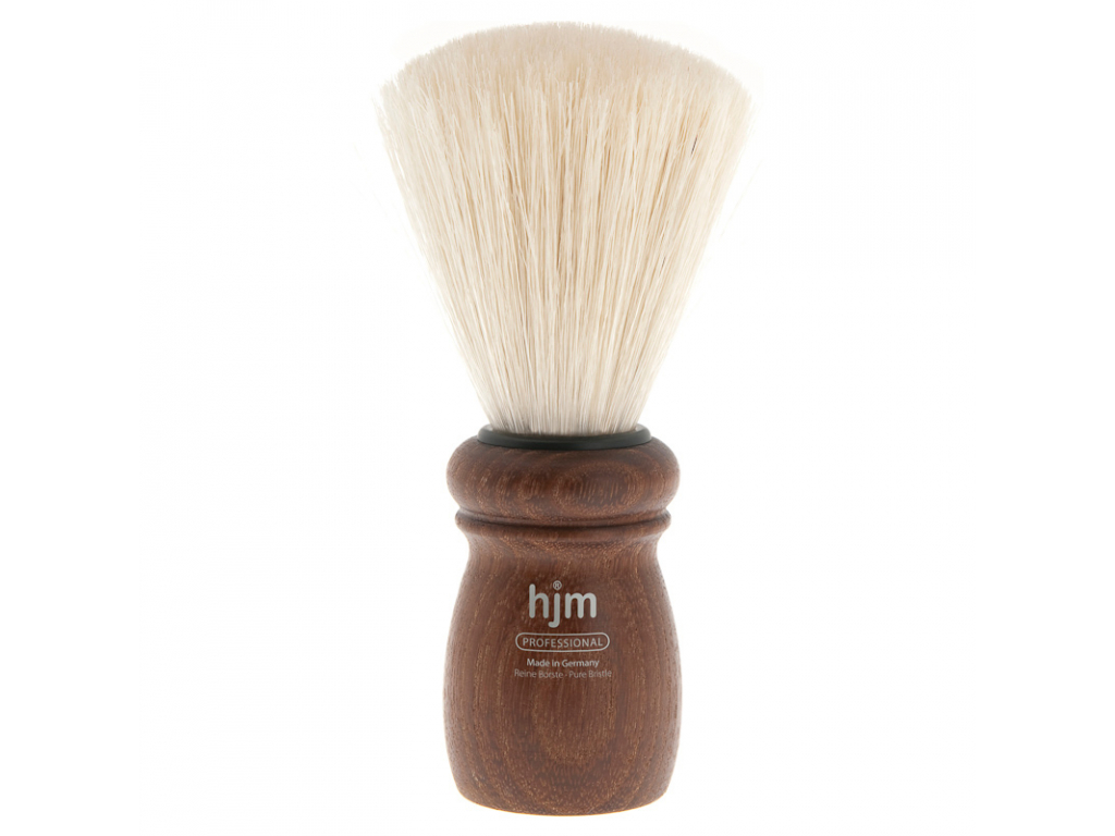 Štětka na holení HJM, dřevo akácie, Pure Bristle