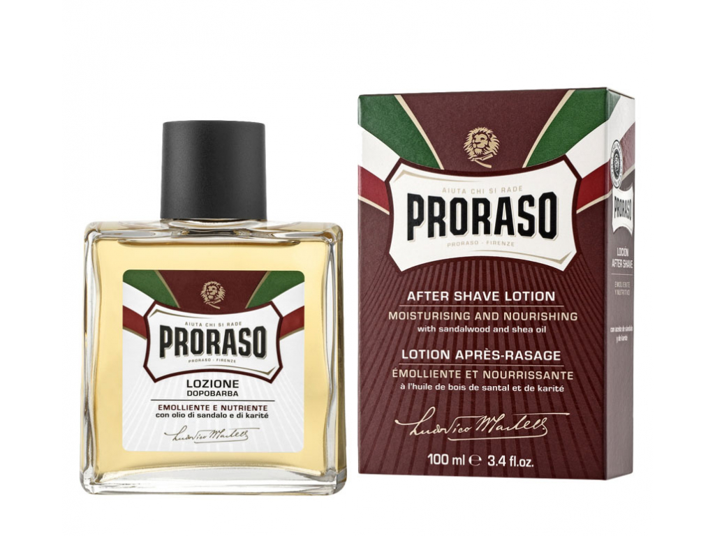 voda po holeni proraso red sandalwood