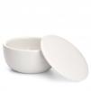 Mýdlo na holení Mühle Sandalwood v misce z bílého porcelánu