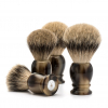 stetka na holeni muhle classic horn brown silvertip badger 091k252 FOTO2