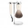 Sada na holení Mühle Vivo Ivory, Pure badger, Mach3