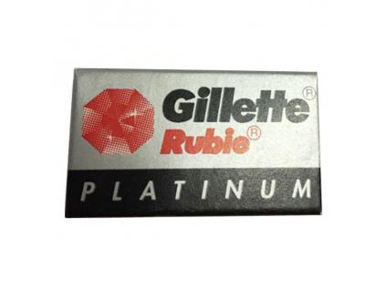 Žiletky Gillette Platinum Rubie 5 ks