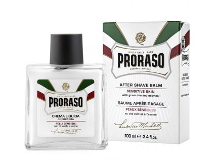 Tekutý balzám po holení na citlivou pokožku Proraso