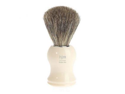 Štětka na holení HJM Ivory, Pure badger