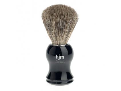 Štětka na holení HJM, černá, Pure badger