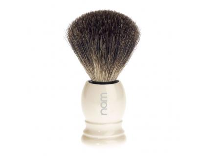 Štětka na holení HJM nom Ivory, Pure badger