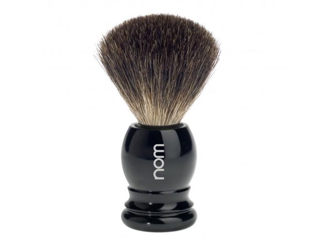 Štětka na holení HJM CLASSIC, černá, Pure badger
