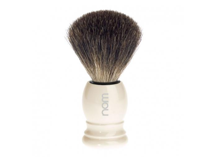 Štětka na holení HJM CLASSIC Ivory, Pure badger