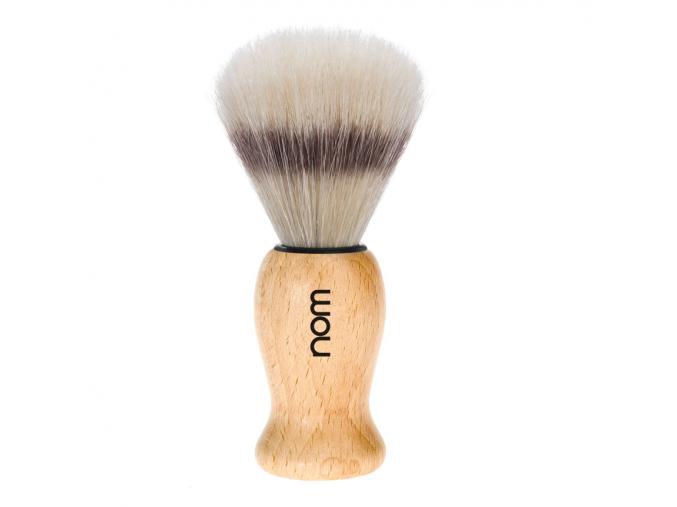 Štětka na holení HJM, bukové dřevo, Pure Bristle