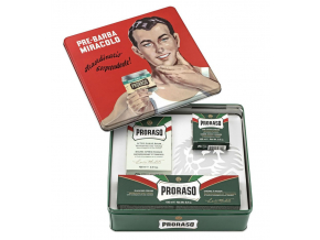 darkove baleni proraso green vyber produktu ve stylove plechove doze FOTO1