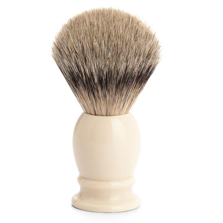 Štětka na holení Mühle CLASSIC Ivory, Silvertip badger