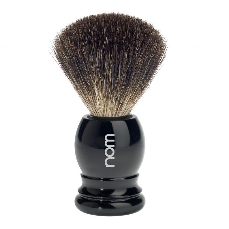 HJM Germany Štětka na holení HJM CLASSIC, černá, Pure badger
