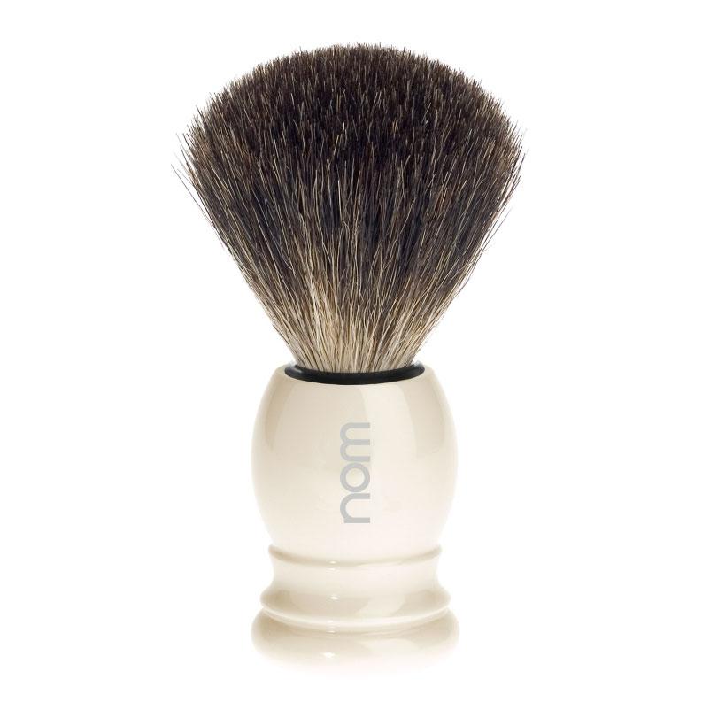 HJM Germany Štětka na holení HJM CLASSIC Ivory, Pure badger