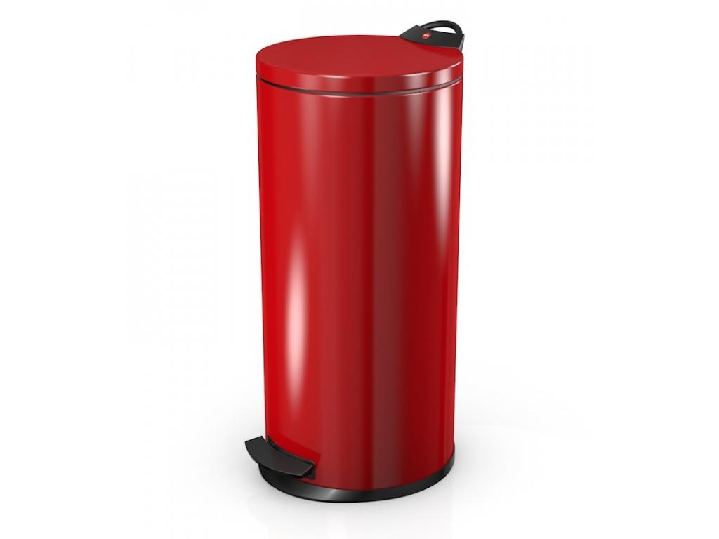 Odpadkový koš Hailo T2 L 19L červený