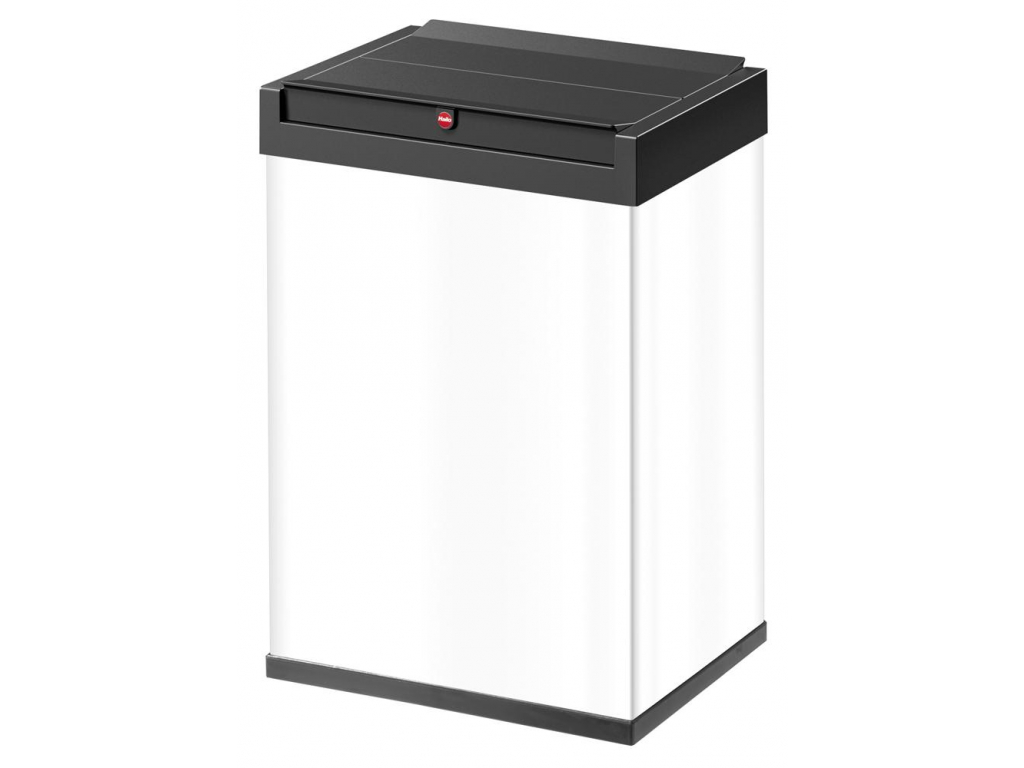 Odpadkový koš Hailo Big-Box Swing L 35L bílý