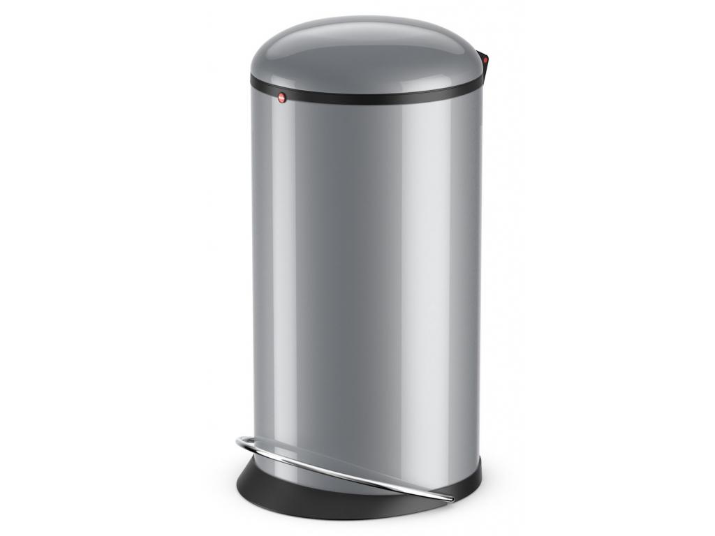 Odpadkový koš Hailo Harmony L 20L stříbrný