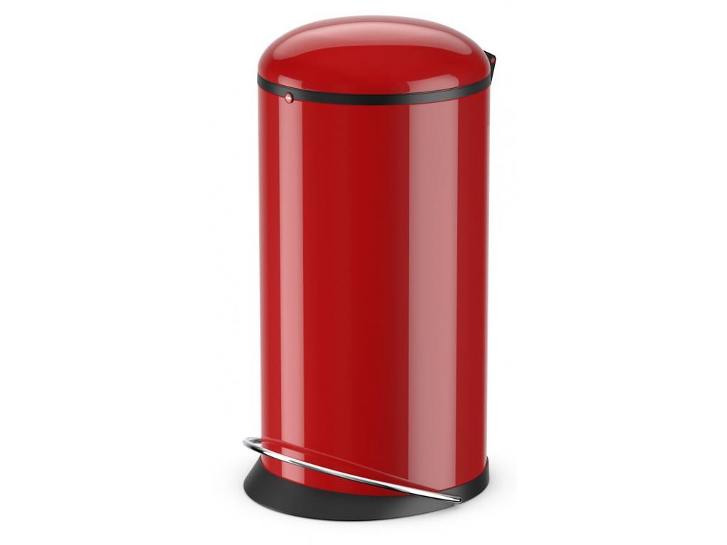 Odpadkový koš Hailo Harmony L 20L červený