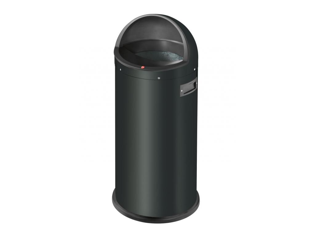Odpadkový koš Hailo Quick 50L černý