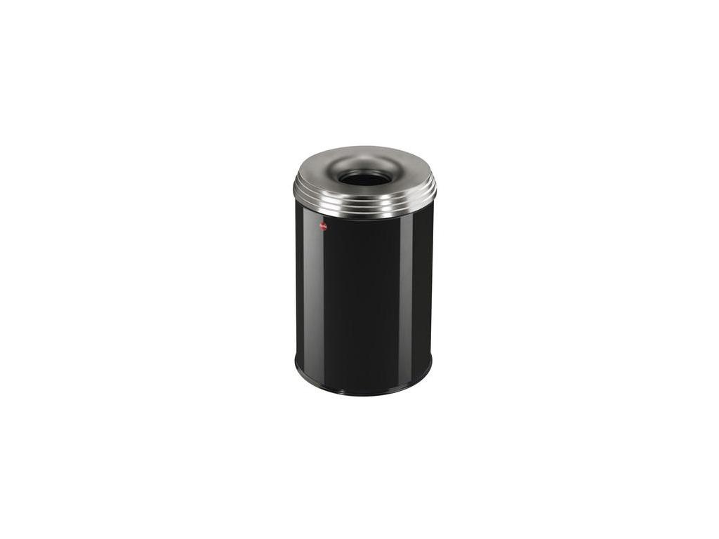 Samozhášecí odpadkový koš Hailo ProfiLine Safe PRO L 30 litrů černý