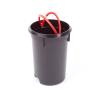 Odpadkový koš Hailo T2 M 11L stříbrný