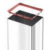 Odpadkový koš Hailo Big-Box Swing L 35L stříbrný