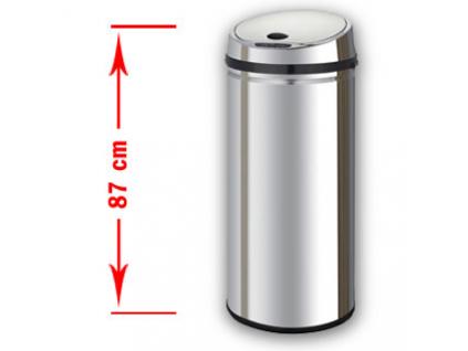 Bezdotykový odpadkový koš MARGO 50L nerez