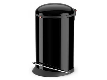 Odpadkový koš Hailo Harmony M 12L černý