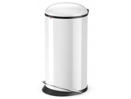 Odpadkový koš Hailo Harmony L 20L bílý