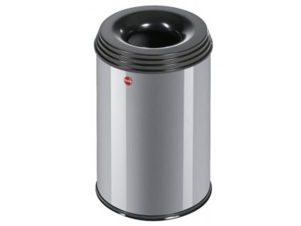 Samozhášecí odpadkový koš Hailo ProfiLine Safe L 30 litrů stříbrný