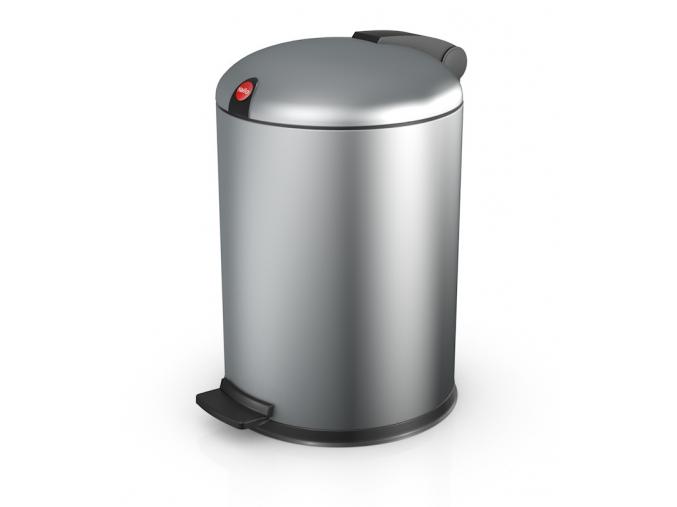 Kosmetický koš Hailo design S 4L stříbrný