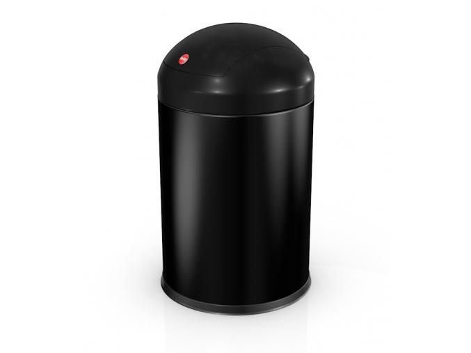 Kosmetický koš Hailo Sienna swing S 4L černý