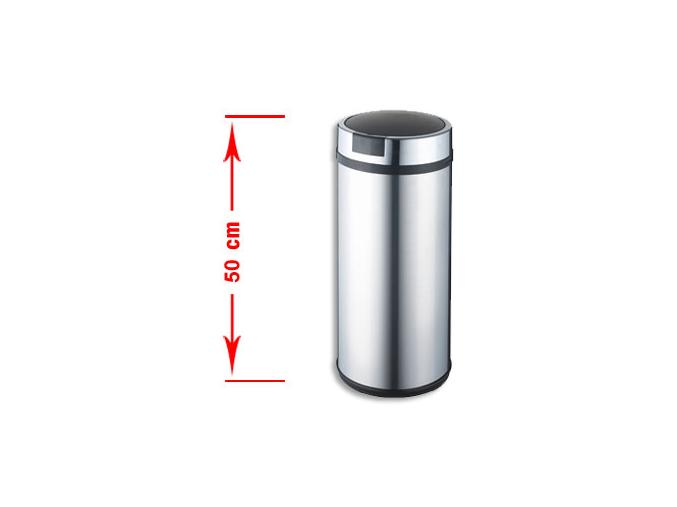 Bezdotykový odpadkový koš LARGO 30L nerez