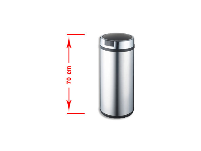Bezdotykový odpadkový koš LARGO 42L nerez