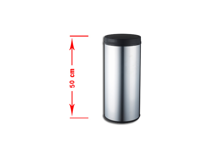 Bezdotykový odpadkový koš RENO 30L nerez