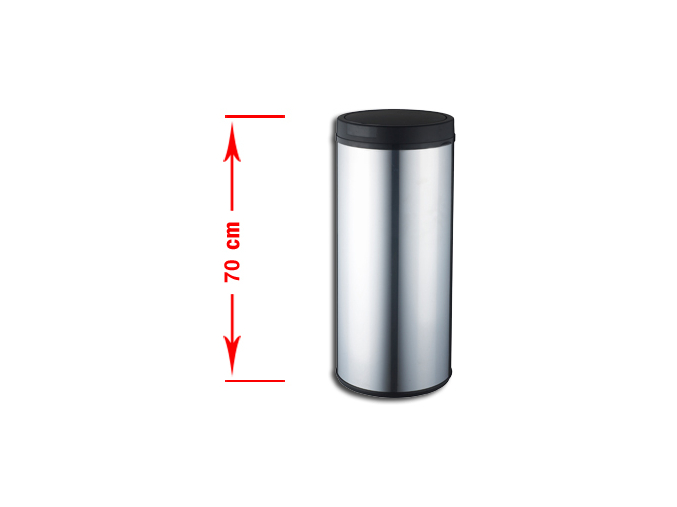 Bezdotykový odpadkový koš RENO 42L nerez