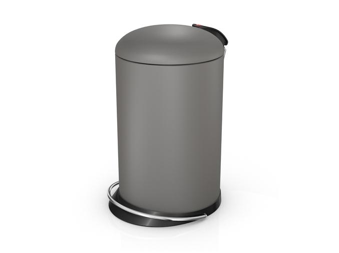 odpadkovy kos hailo topdesign 13l sedy