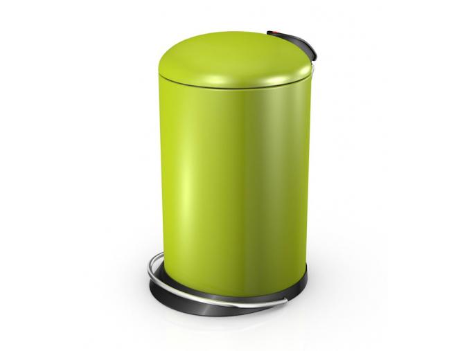 Odpadkový koš Hailo TOPdesign M 13L lemon