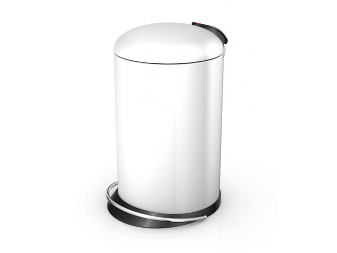 Odpadkový koš Hailo TOPdesign M 13L bílý