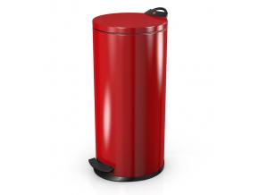 Odpadkový koš Hailo T2 20L červený