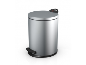 Odpadkový koš Hailo T2 13L stříbrný