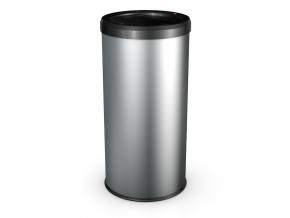 Odpadkový koš Hailo BigBin Swing 45L stříbrný
