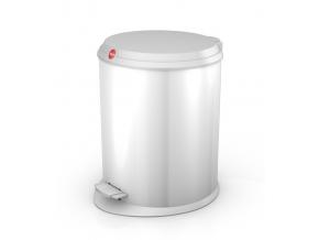 Odpadkový koš Hailo T1 M 11L bílý