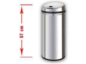Bezdotykový odpadkový koš MARGO 30L nerez