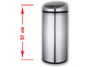 Bezdotykový odpadkový koš PONTE 30L nerez