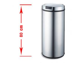 Bezdotykový odpadkový koš STILO 50L nerez