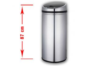 Bezdotykový odpadkový koš PONTE 50L nerez