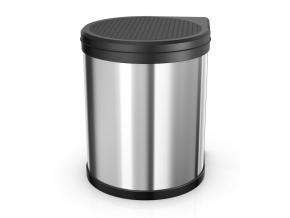 Vestavný odpadkový koš Compact M 15L nerez